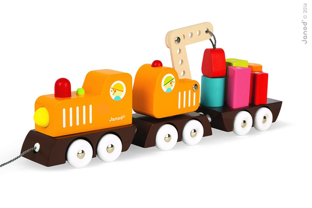 Tren Grúa Multicolor
