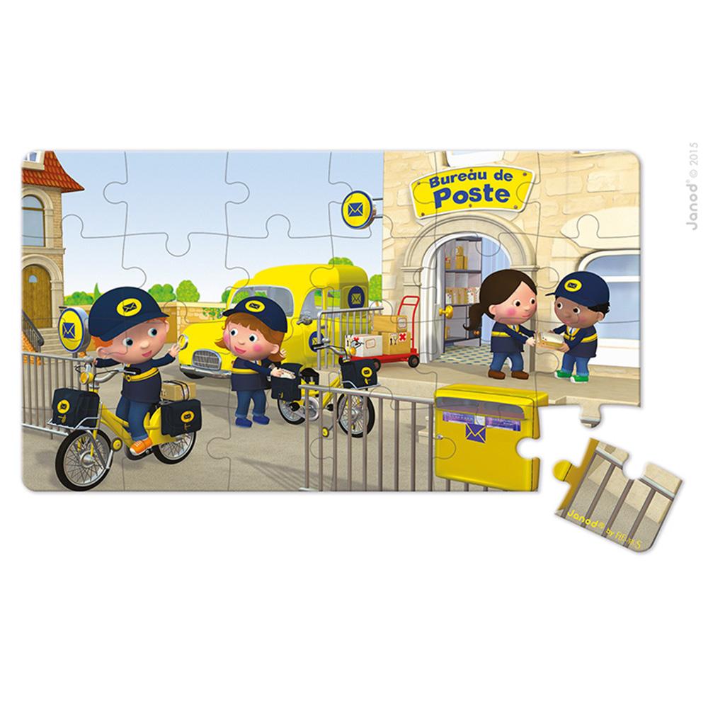 Lovely Puzzle la Bicicleta De Mateo