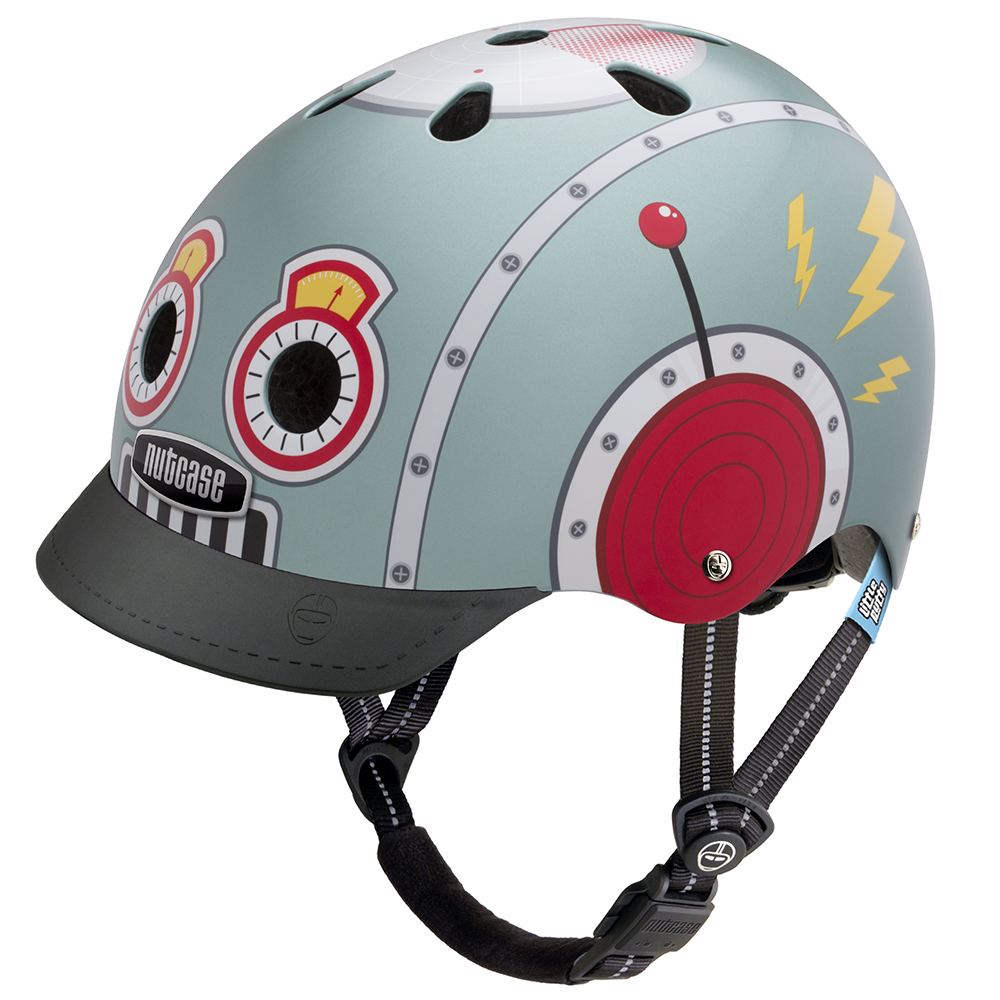 Casco Tin Robot  XS Little Nutty