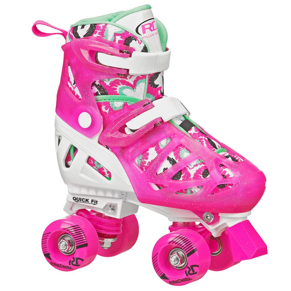 Patines WHITE/PINK L Trac Star