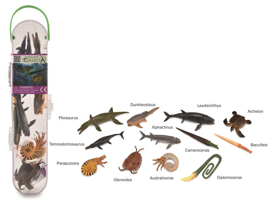 Mini Animales Marinos prehistóricos