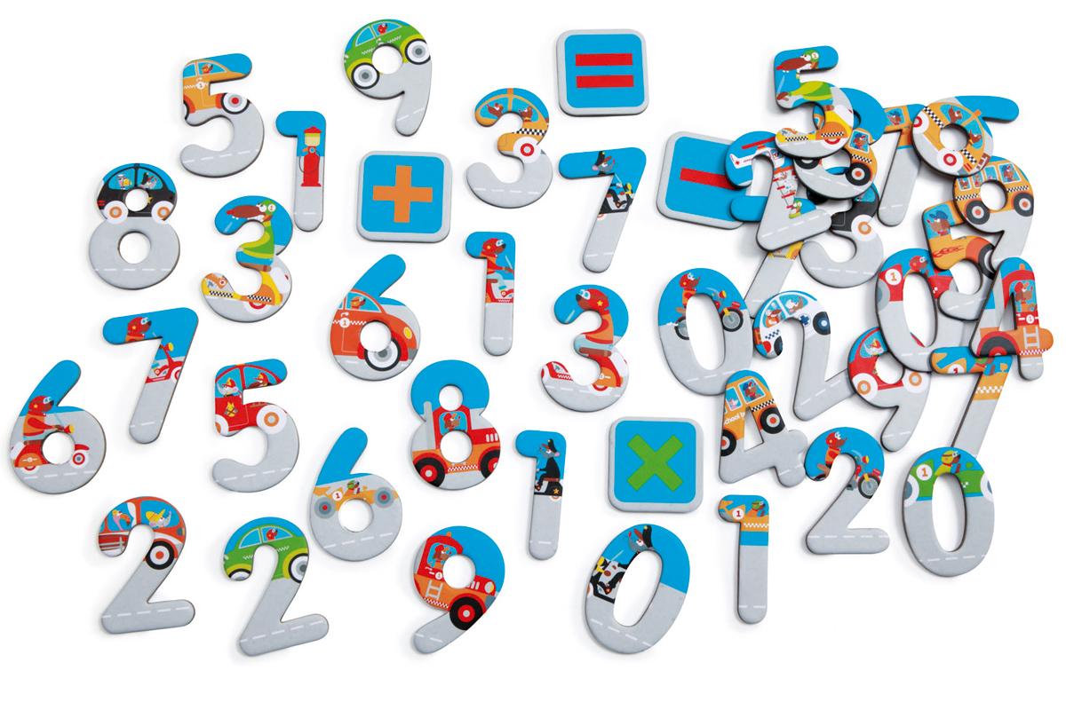 Números magnéticos  123 City