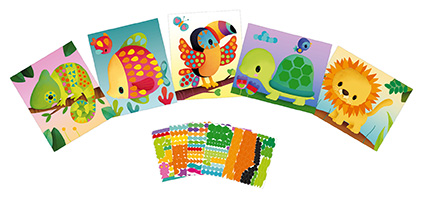 Manualidad Tarjetas con Stickers