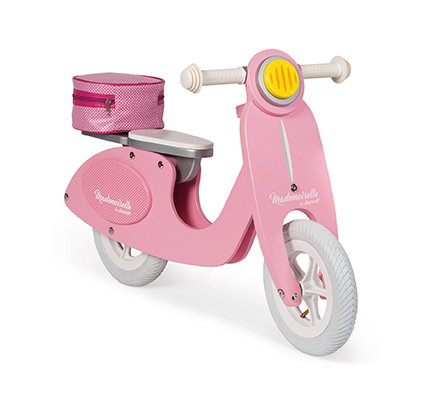 Scooter Rosado Mademoiselle