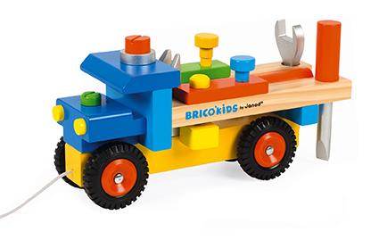 Camión de construcción DIY