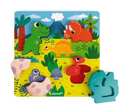 Chunky puzzle Busca y encuentra Dinosaurios