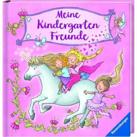 Libro de amigos.  Mis amigos de Kinder Unicornio